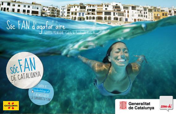 Campaña Fans de Catalunya - Gemma Mengual - Calella de Palafrugell