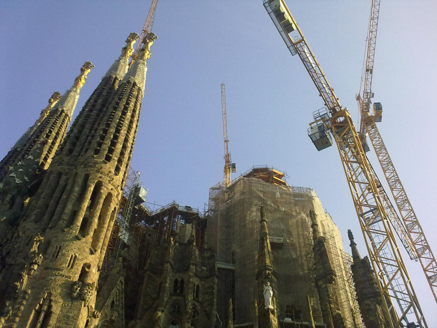 Building the Sagrada Familia