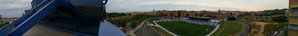 Foto panorámica desde la terraza - eData Desarrollo Web Badalona