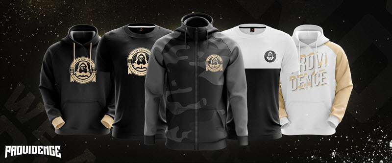 Team Providence merchandising ropa e-Sports gaming