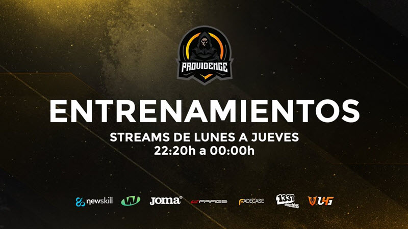 Team Providence streaming e-Sports