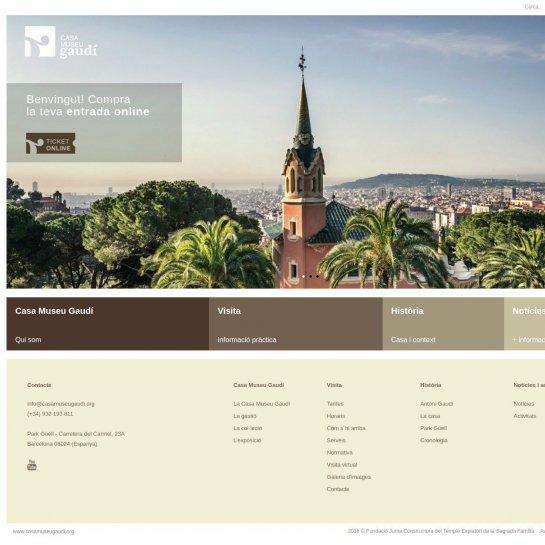 Casa Museo Gaudi.Optimizacion Wordpress Casa Museo Gaudi Seo Para Wordpress